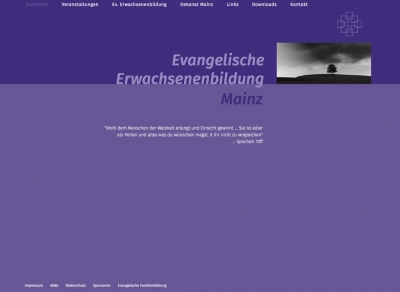 Evangelische Erwachsenen – und Familienbildung Mainz