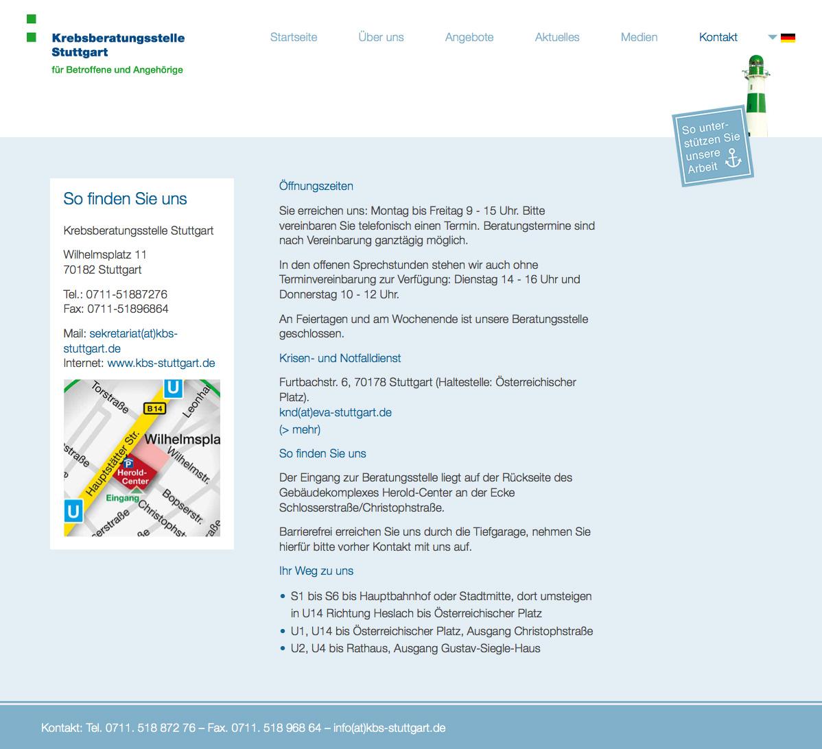 Krebsberatungstelle Stuttgart